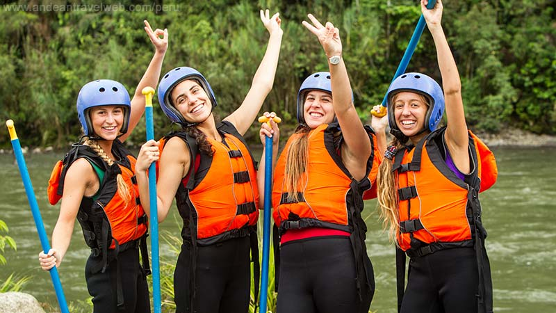 Peru White Water Rafting