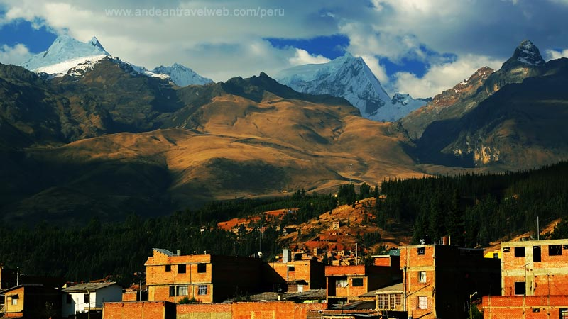 Outskirts of Huaraz and Cordillera Blanca