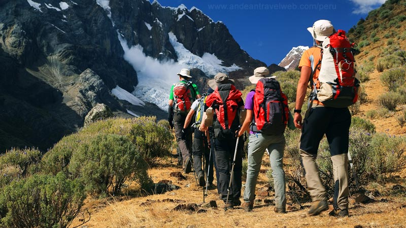 Trekking in the Cordillera Blanca