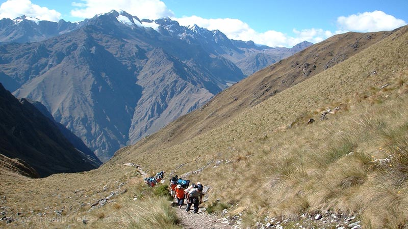 2nd day of the Inca Trail
