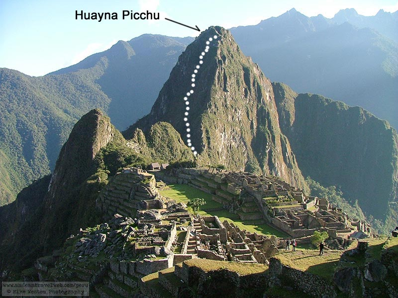 how to get to huayna picchu
